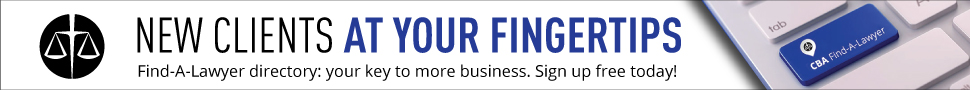 New clients at your fingertips. The Find-A-Lawyer directory is your key to more business. Sign up free today!